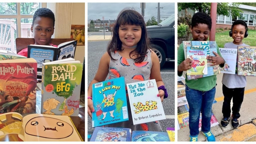 A Donation Story: The Maryland Book Bank